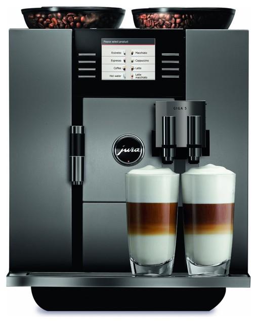 Jura Capresso GIGA 5 One-Touch Cappuccino and Latte Macchiato System modern-espresso-machines
