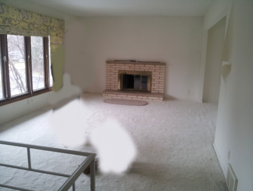 Help W Long Narrow Living Room W A Fireplace Opens To Dining Room