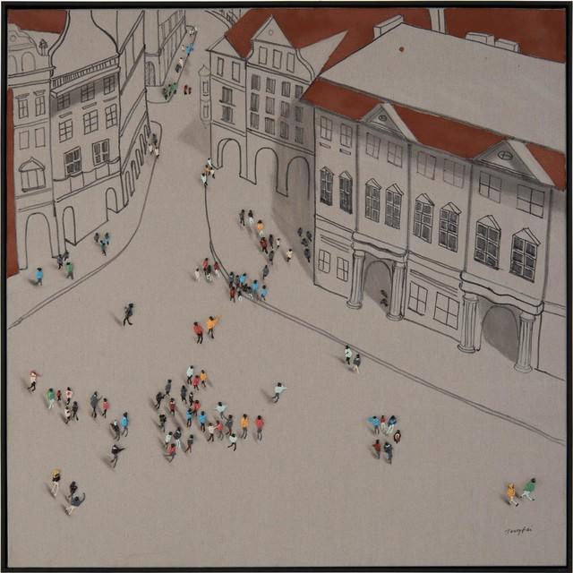 Painting JOHN-RICHARD Teng Fei Around the