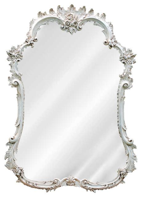 Dallan Mirror, White.