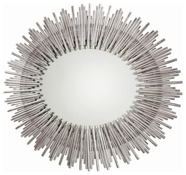 Prescott large oval mirror contemporary wall mirrors for Prescott mirror