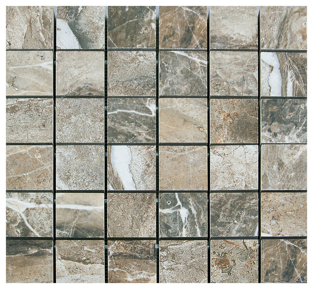 La fabbrica thrill natural porcelain mosaic 2x2 on 13x13 for 13x13 floor tiles