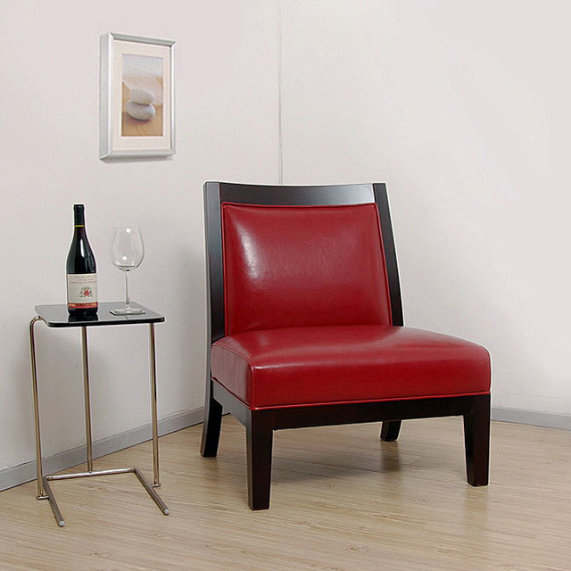 red chair living room connor burnt leather chair contemporary living 14242