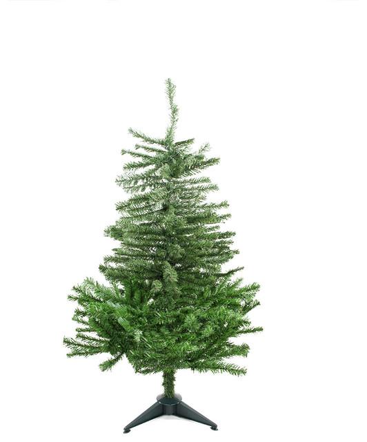 Tone balsam fir artificial christmas tree unlit