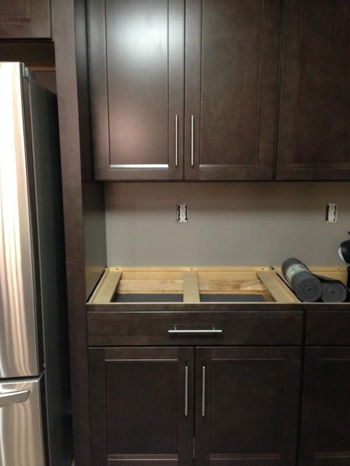 4 inch granite backsplash to match countertop or not
