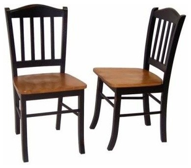Sedona Chairs Set Of 2 Transitional Dining Chairs