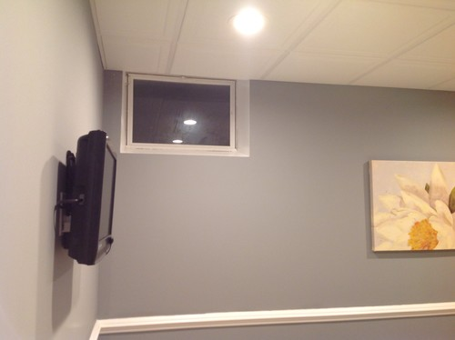Small Basement Window Covering