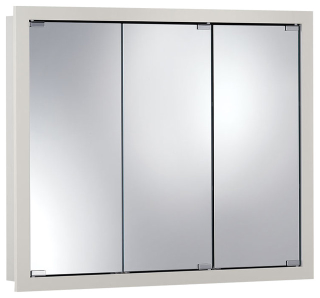 "... "" Surface Mount White Medicine Cabinet transitional-medicine-cabinets"