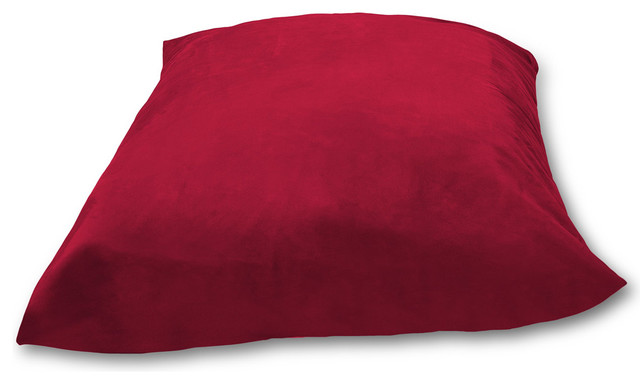 Enormous Floor Pillows : Huge Pillow Comfy Sacks Memory Foam Bean Bag Chair - Contemporary - Floor Pillows And Poufs - by ...