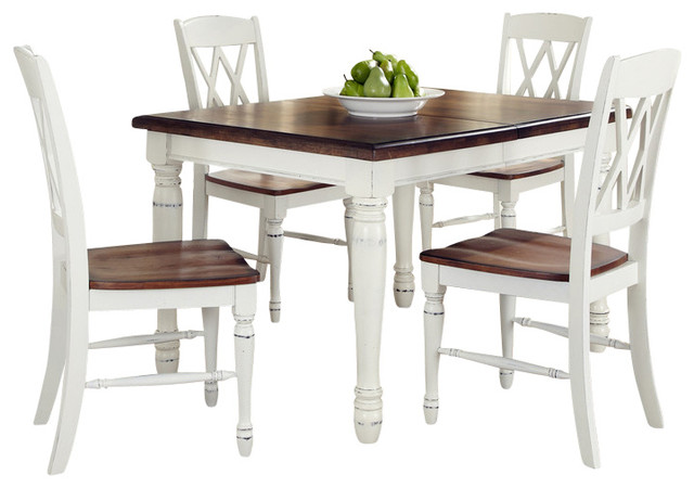 Beautiful Inverness 5 Piece Rectangular Dining Table And Chair Set Farmhouse Dining  Sets