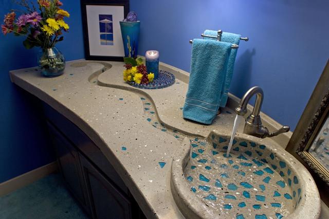 Concrete Bath Sinks