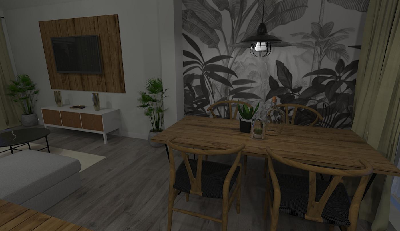Aménagement d'une maison dans l'Oise - Salon