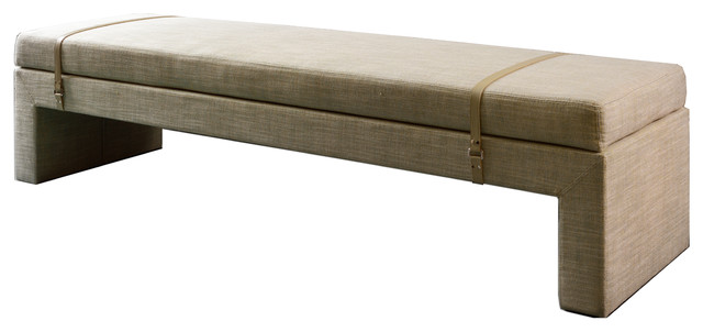 Lucca Bench, Grey. -1