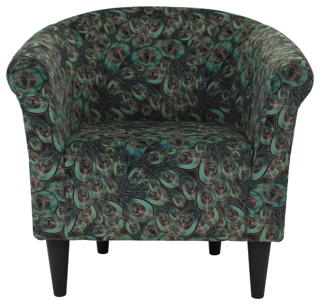 Savannah Club Chair, Peacock.