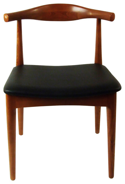 Round Dining Chair Brown.
