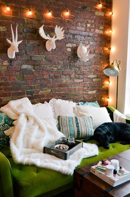 60 Stylish Brick Walls Ideas For A Living Room