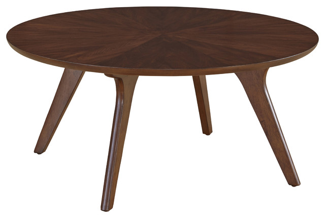 Hensen Round Coffee Table Midcentury Coffee Tables by Casana