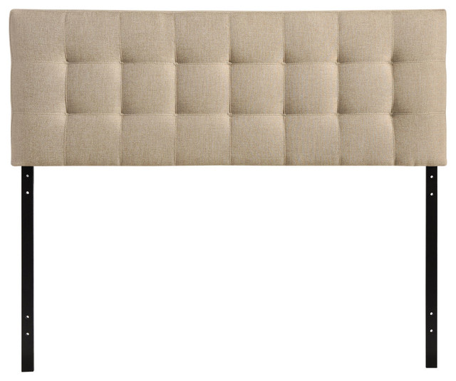 Countess King Fabric Headboard, Beige.