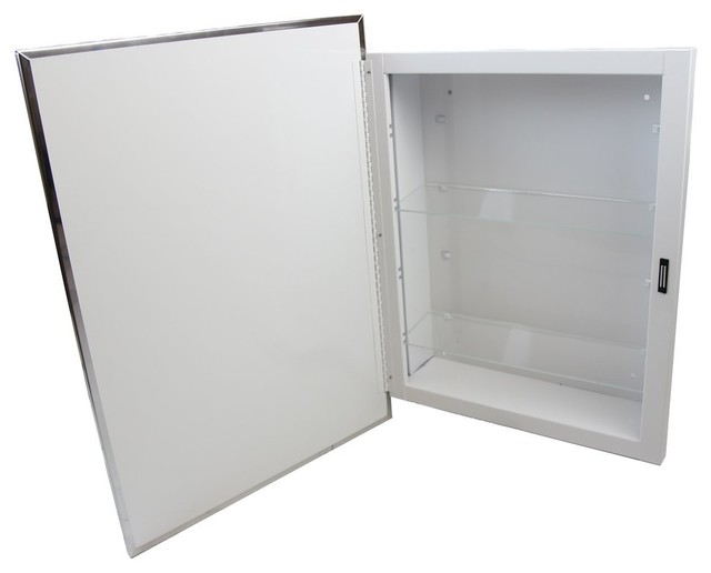 Swing Door Surface Mounted Medicine Cabinet.