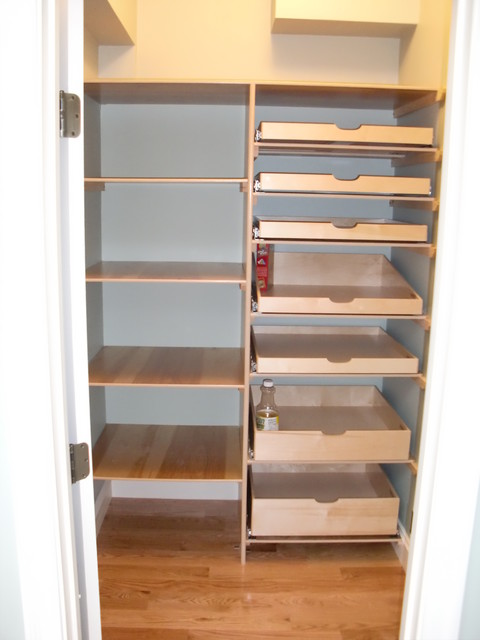 Closet & Walk-In Pantry Pull Out Shelves - Boston - by ShelfGenie of Massachusetts