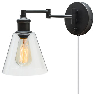 Industrial Swing Arm Wall Lamps