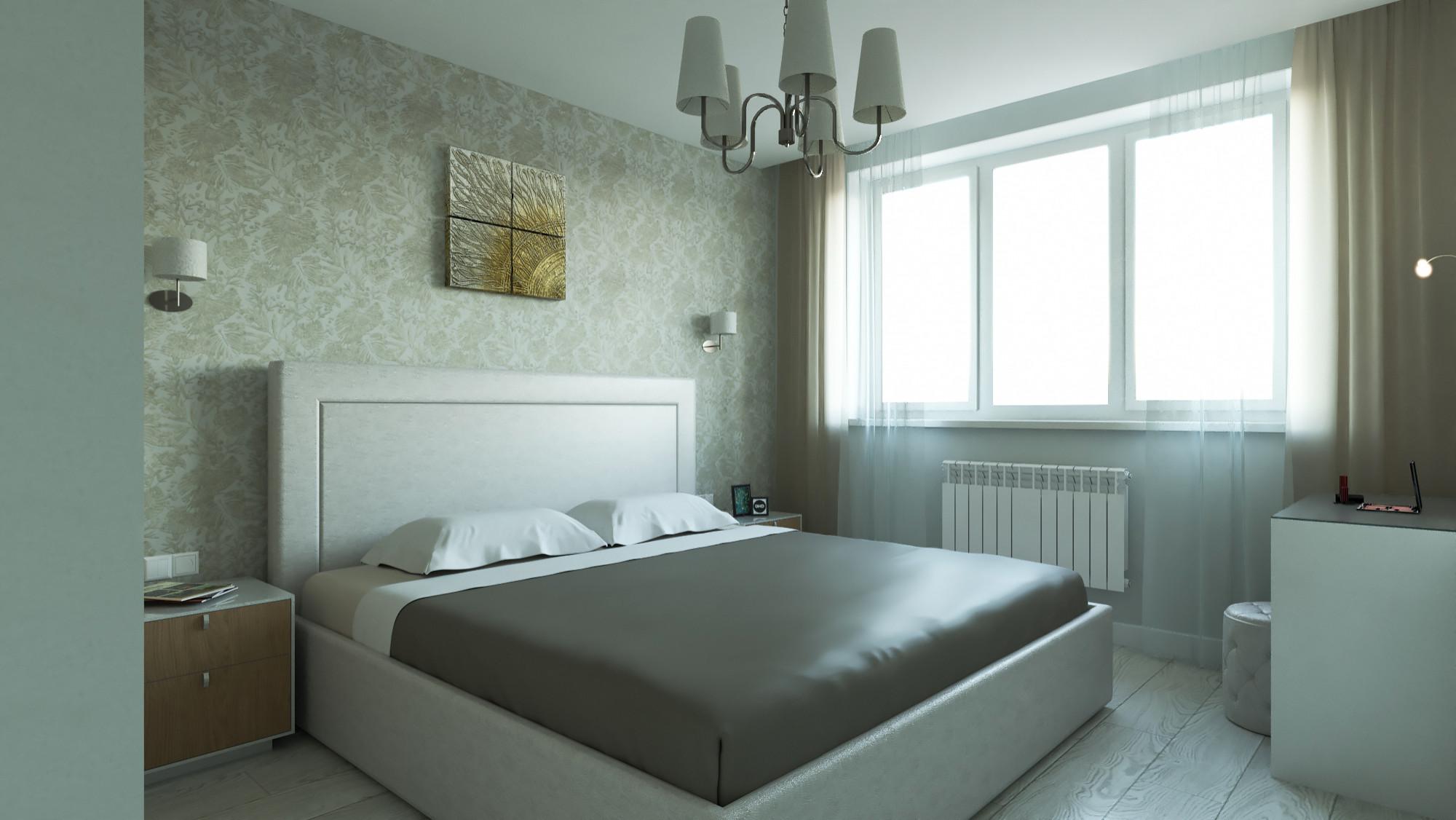 Трехкомнатная квартира 87 кв м в современном стиле, Одинцово