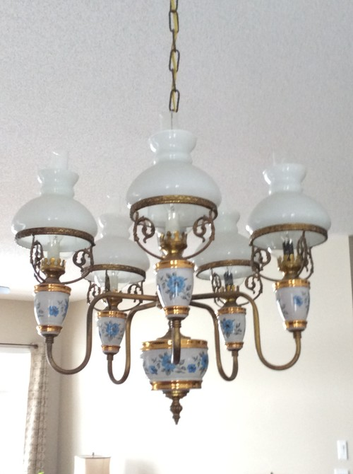 - I Have A Beautiful Antique Chandelier For Sale But Don't Know How To G