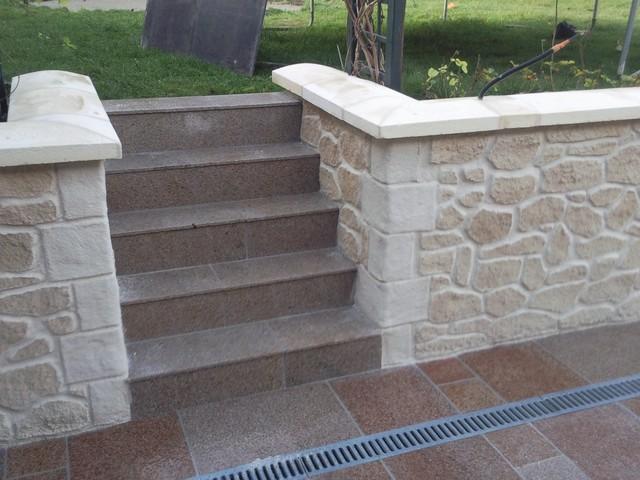Decopierre exterieur classique chic reims par for Decoration jardin exterieur en pierre