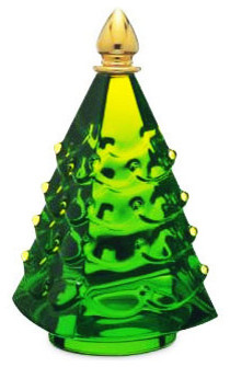 baccarat crystal green russian christmas tree contemporary