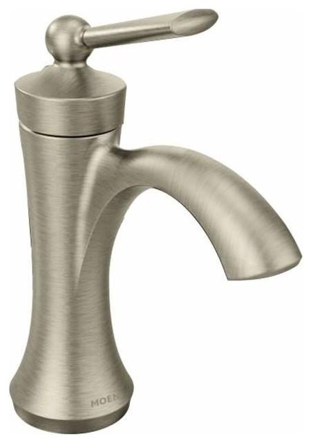 Moen Moen 4500 Wynford One Hole Bathroom Faucet Bathroom Sink Faucets Houzz