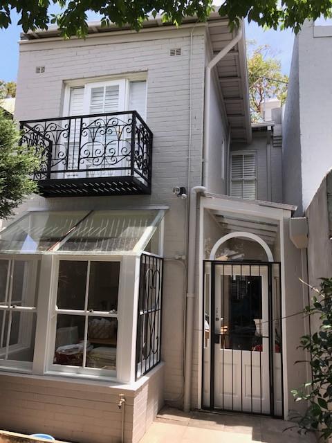 Victorian Terrace exterior, Woollahra