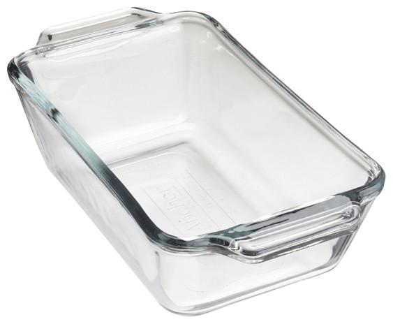 Glass Bread Pan.