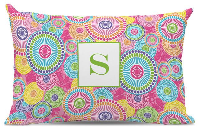 Lumbar Pillow Kyoto Single Initial, Letter B