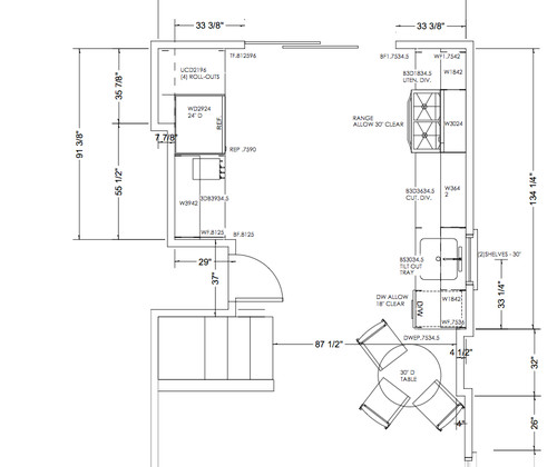 Lighting plan help for new kitchen for Floor plan assistance