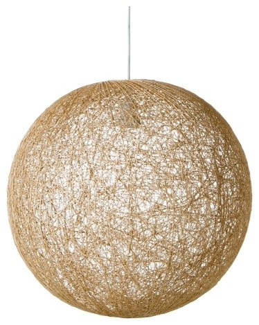 Spun Ball Pendant 50cm | Freedom� furniture and homewares contemporary pendant lighting