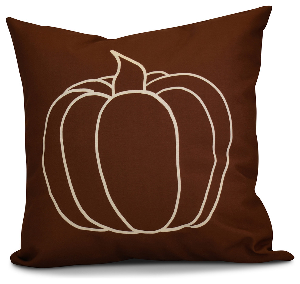 Pumpkin Pie Farmhouse Outdoor Cushions And Pillows By E By Design
