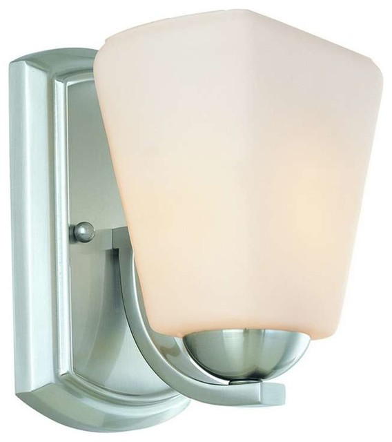Transitional Bathroom Wall Sconces : Dolan Designs Hammond Wall Sconce - Transitional - Bathroom Vanity Lighting - by ShopFreely