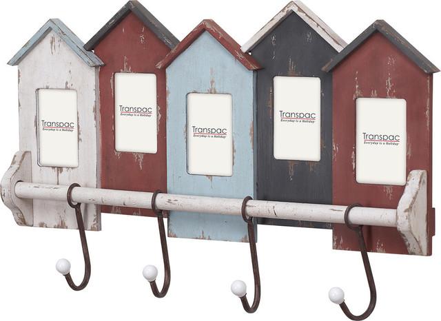 Row Of Houses Photo Wall Hooks.
