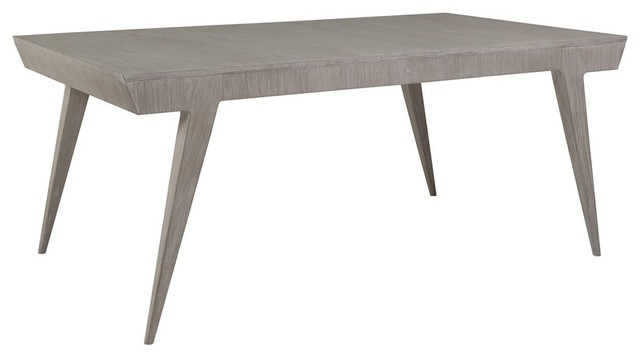 artistica home haiku rectangular dining table bianco tables