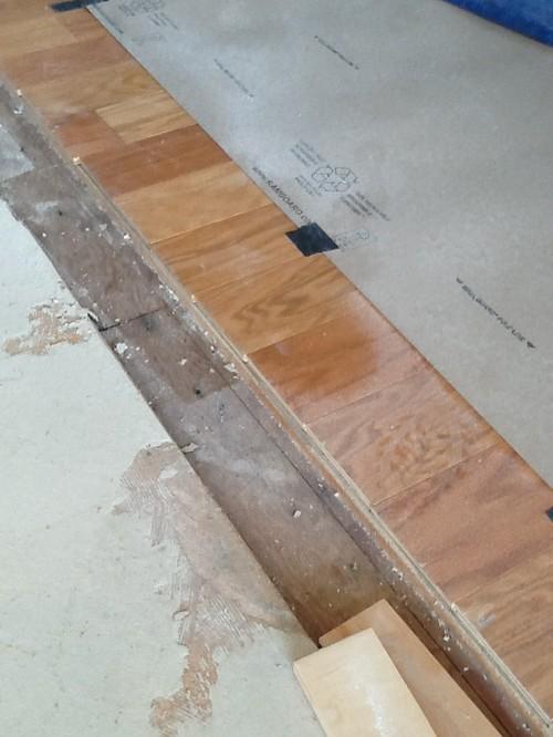 Weaving Engineered Hardwood Floor