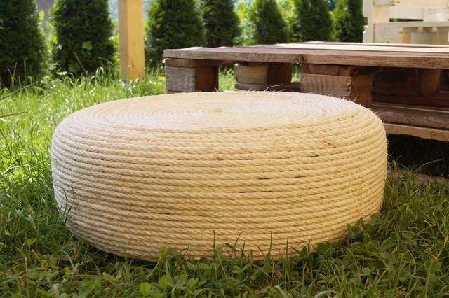 Upcycling Autoreifen Ein Ottomane Für Den Garten Other By
