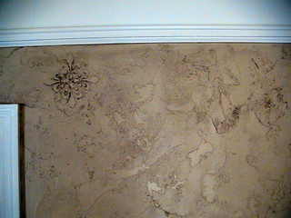Dining Walls Textured And Raised Fleur De Lis Then