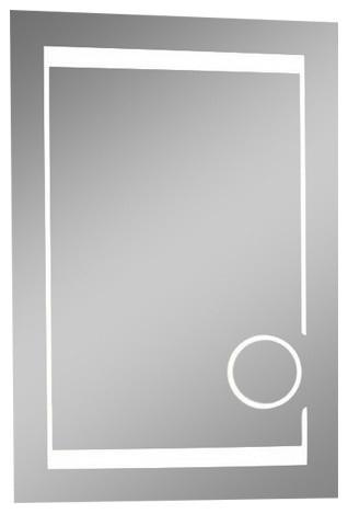 Ib Mirror Dimmable Lighted Bathroom Mirror Aurora 24 In X