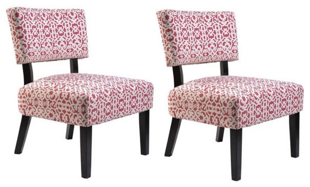 Us pride furniture charlotte fabric accent chair with Modern furniture charlotte