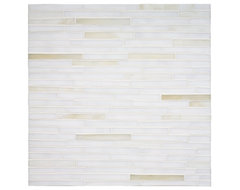 contemporary kitchen tile Tempo Bamboo Mosaic