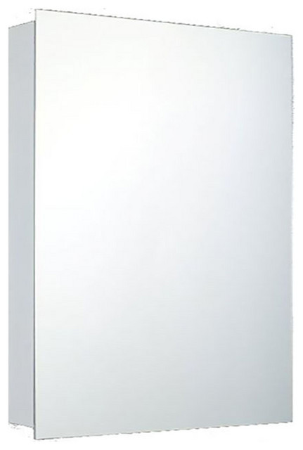 """Deluxe Series Medicine Cabinet, 18""""x24"""", Polished Edge, Surface Mounted"""