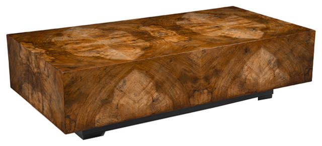 John Richard Chelsea Squared Cocktail Table Contemporary Coffee - John richard coffee table