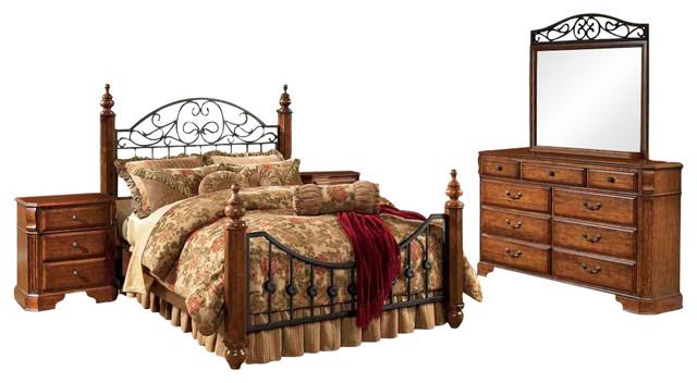 Signature Design By Ashley Wyatt Bedroom Set Traditional Bedroom Furniture Sets By Emma Mason