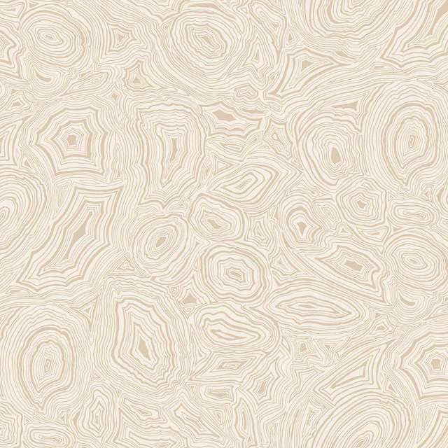 Fornasetti Malachite Wallpaper, Parchment & Gold
