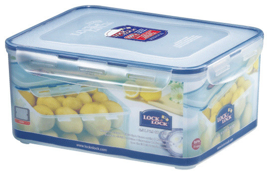 Locku0026Lock Rectangular Tall Food Container 6.5L With Handle, ...